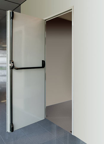 Porte de service r pi s curit - Barre de securite pour porte de service ...
